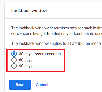 Lookback Window 2