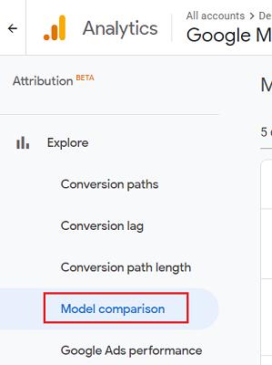 Model Comparison report