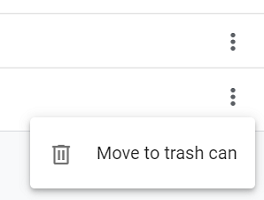Move to Trash Can