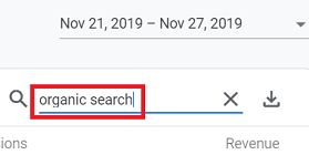 Organic Search