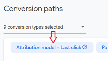 faster way to change the attribution model
